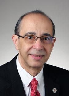 Rafik Goubran, Carleton's acting Vice-President (Research and International)
