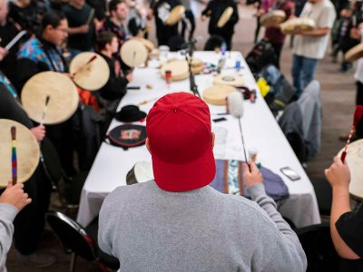 Photo for the news post: Deer Stew and the Drum: Carleton Revives Annual Round Dance