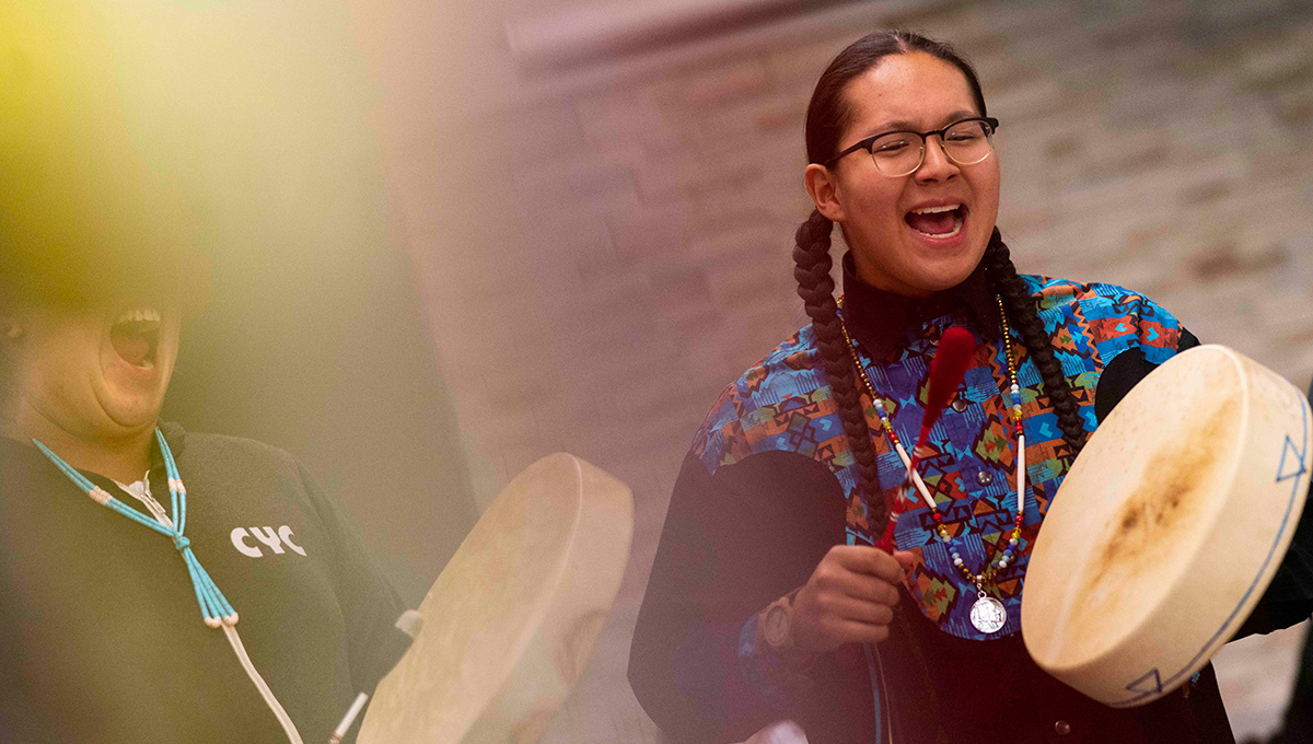 Deer Stew and the Drum: Carleton Revives Annual Round Dance