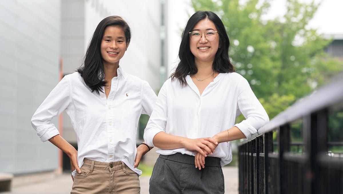 Liana Meere and Mandy Hui
