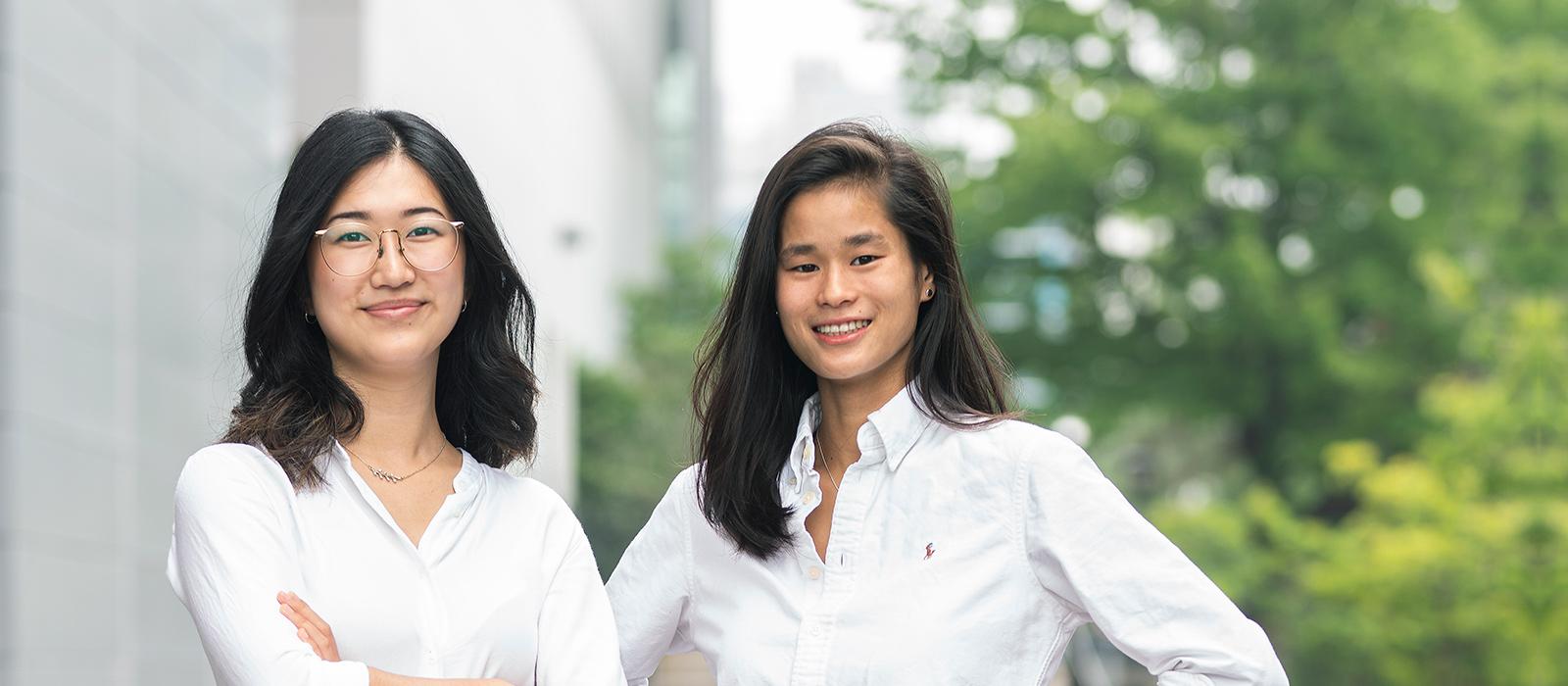 Mandy Hui and Liana Meere