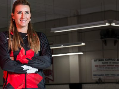 Photo thumbnail for the story: Carleton Grad Set to Compete in Olympic Curling