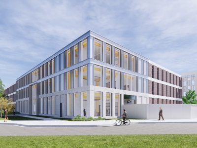 Photo for the news post: Carleton Breaks Ground on All-New Engineering Design Centre