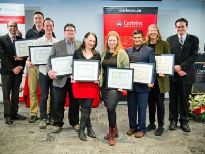Photo for the news post: Meet the Seven Faculty who Won Faculty Graduate Mentoring Awards