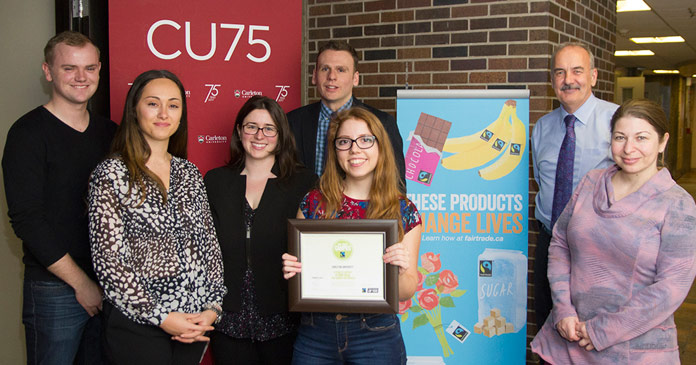 The Fair Trade Campus group holds the official designation.