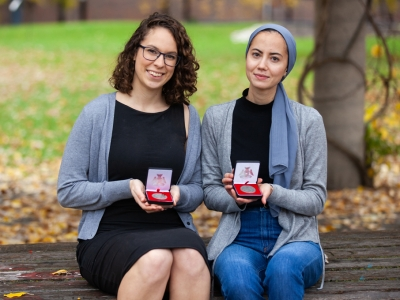 Photo for the news post: Fall Convocation: Medal Winners Take Top Awards