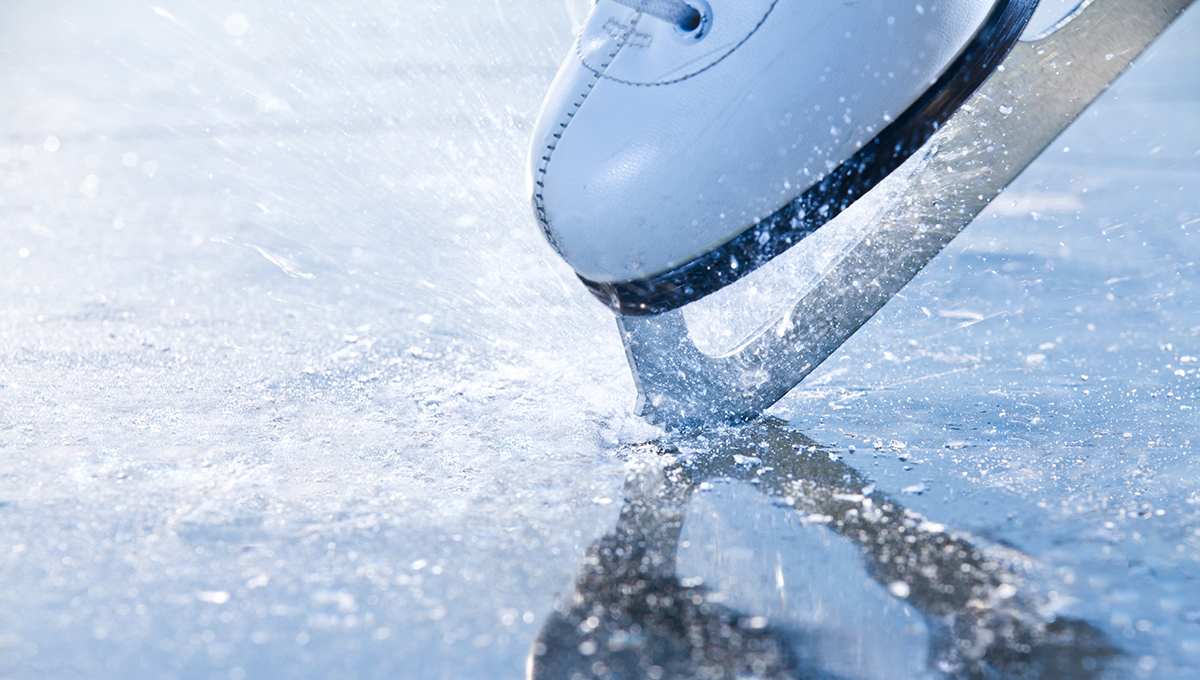 A figure skater (Photo: iStockPhoto)