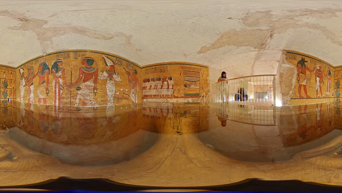 Global Heritage Conservation: Despite mitigation measures, Tutankhamen's tomb is vulnerable to damage from visitors.