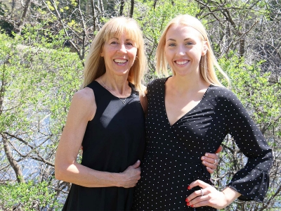 Photo for the news post: Mother and Daughter Team Pick up Master's Degrees in Legal Studies
