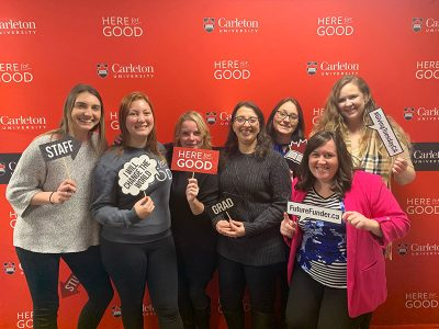 Photo for the news post: A Million-Dollar Day for Carleton on Giving Tuesday