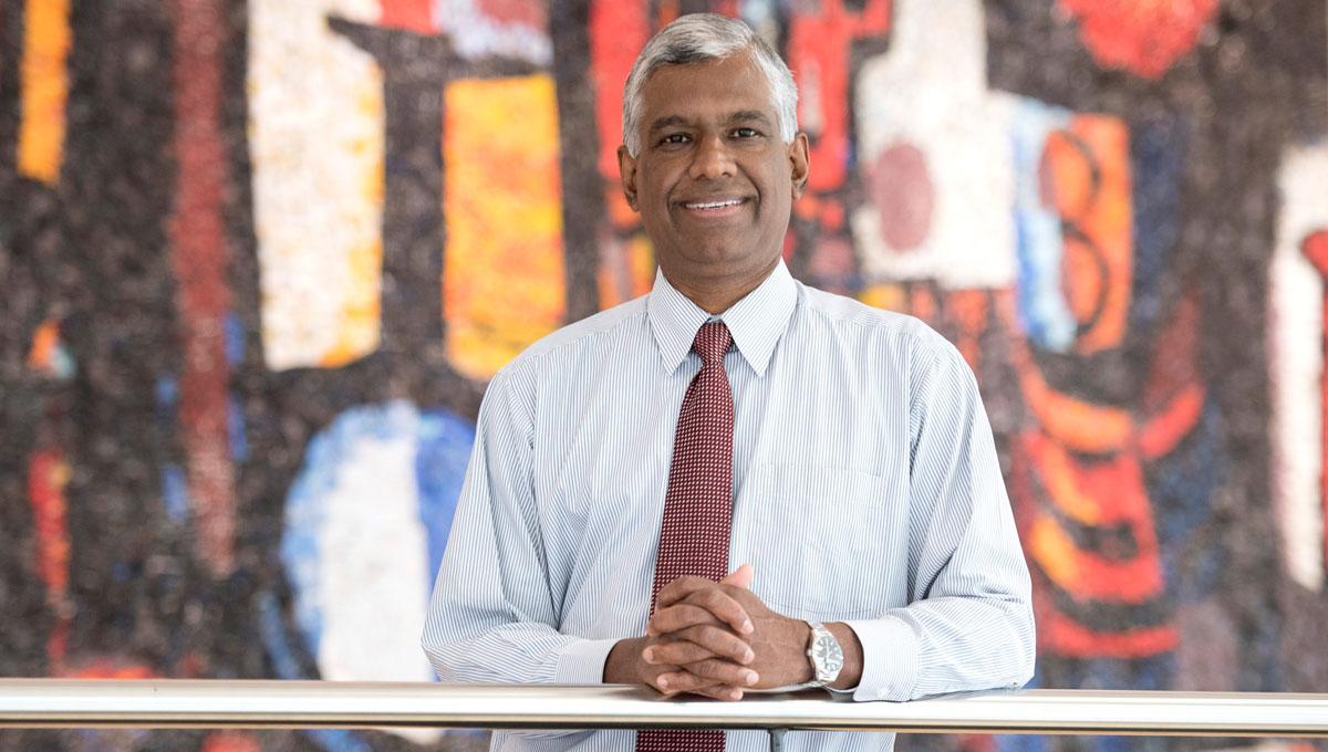 Nimal Rajapakse, Carleton's vice-president (Research and International) | Photo: Justin Tang