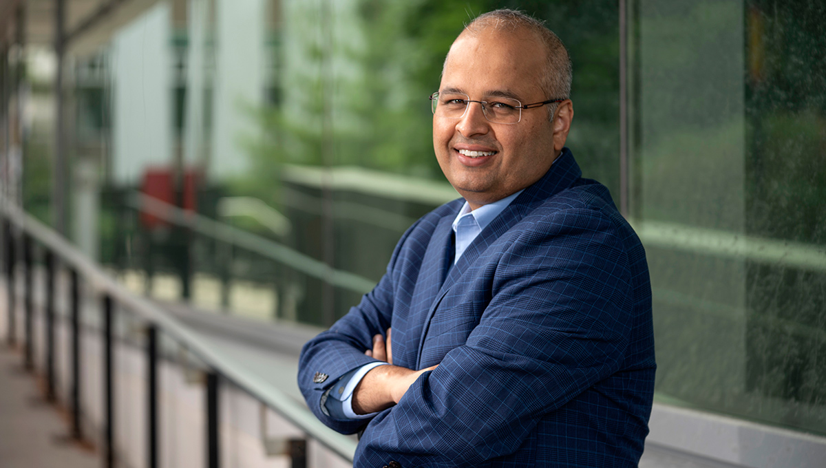 Innovation Hub Director Harry Sharma