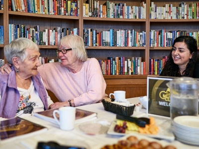 Photo for the news post: Helping Seniors Connect