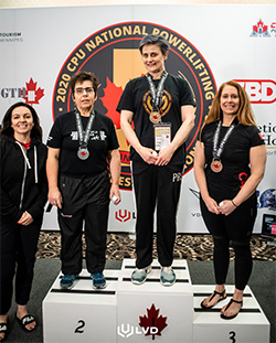 Carleton History Professor Wins Medals at Powerlifting Nationals