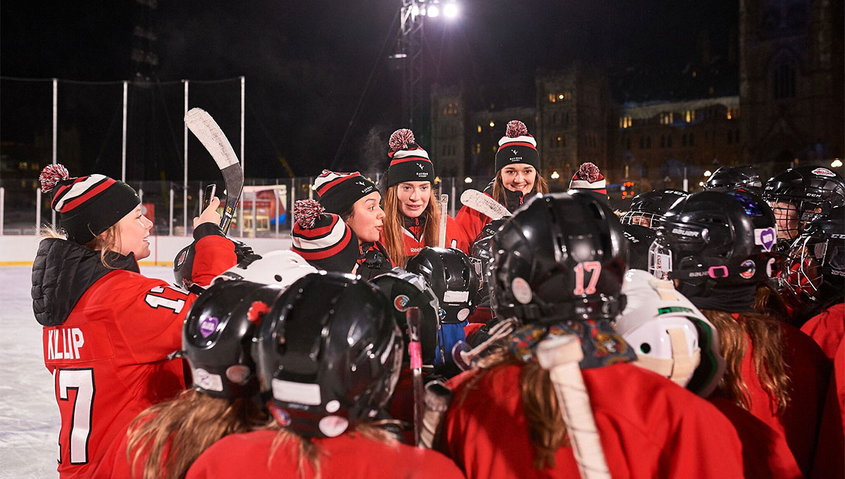 Women in Sport: Carleton's women's hockey team