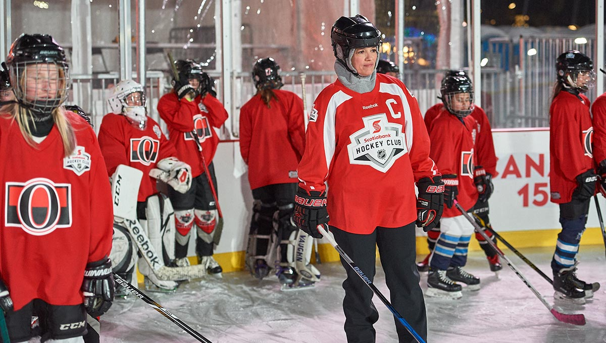 Ravens Take to the Ice for HockeyFest on the Hill