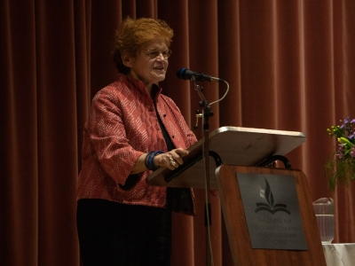 Photo for the news post: Historian Deborah Lipstadt Tackles Anti-Semitism and Holocaust Deniers