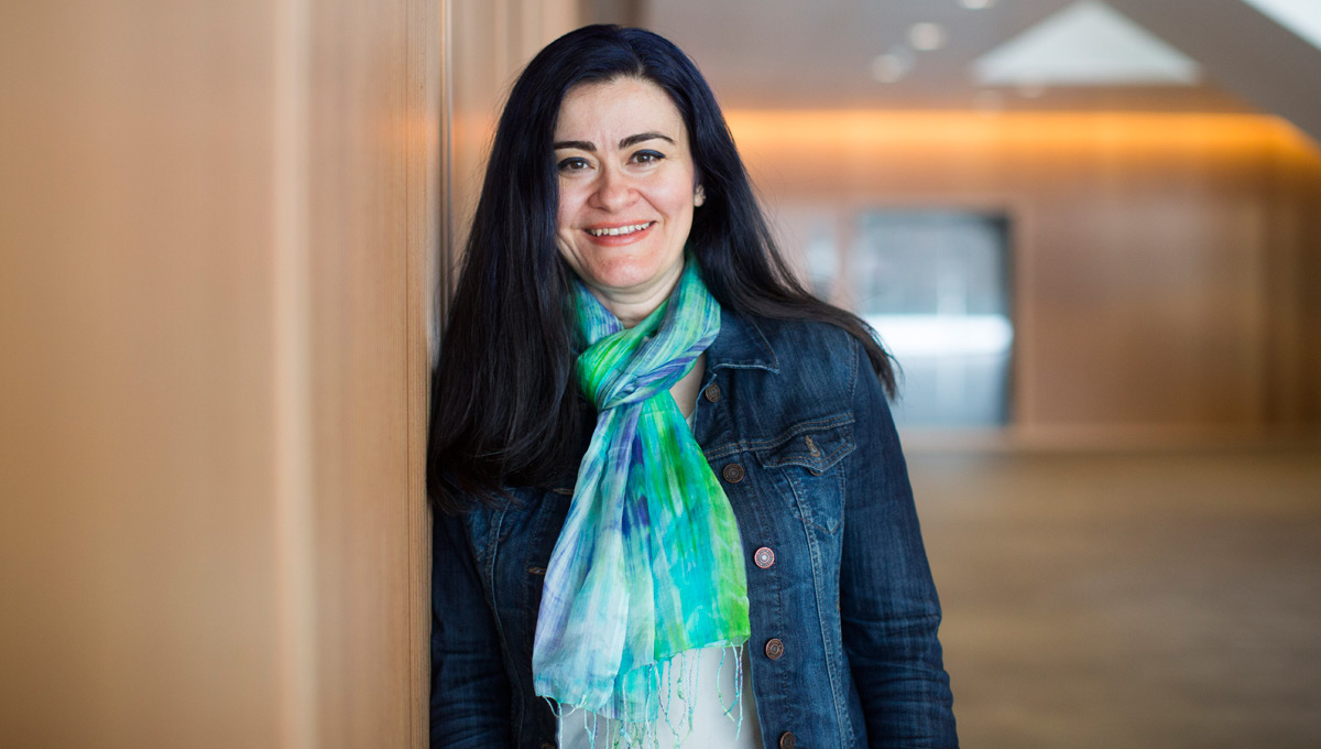 Water Security: Banu Örmeci, a professor in Carleton's Department of Civil and Environmental Engineering and the Canada Research Chair in Wastewater Treatment Engineering