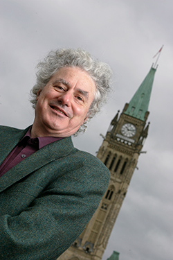 James Meadowcroft, pictured here in front of the Parliament Buildings, is on a Economic Recovery Post-COVID task force