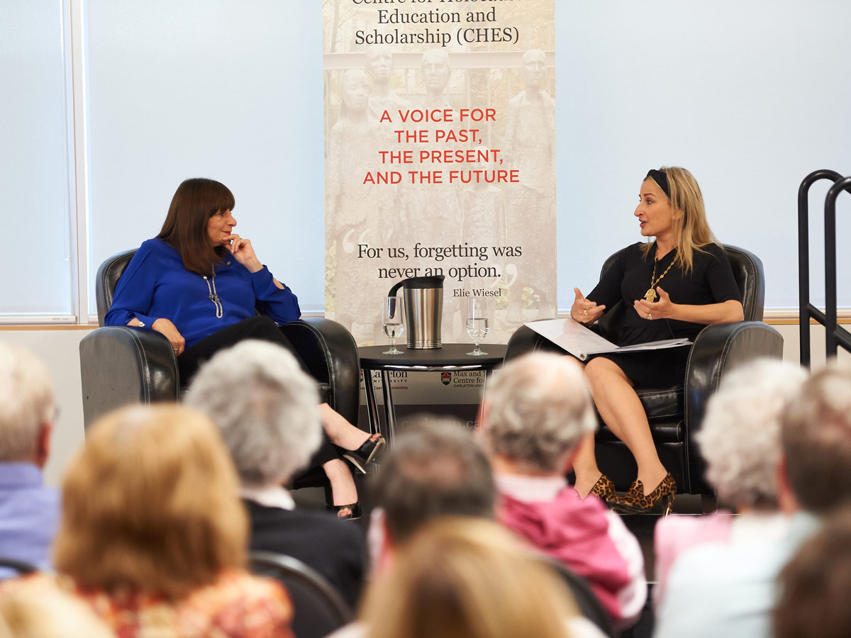 More than 200 people turned out to hear fashion maven Jeanne Beker discuss the legacies of her parents, Bronia and Joseph Beker, in June 2018.