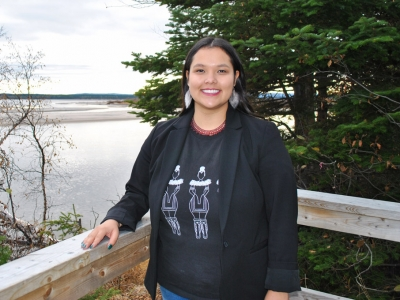 Photo for the news post: Fall Convocation: Inuk Social Work Grad Travels Far for Degree