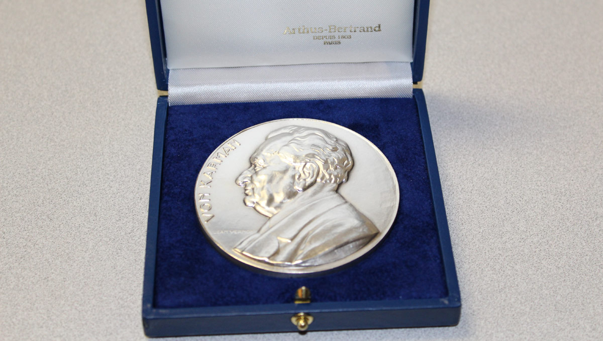 NATO's prestigious von Kármán Medal | Photo: National Research Council of Canada