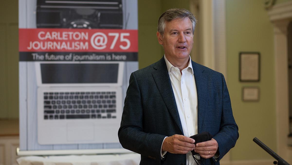 Journalism Program Head Allan Thompson