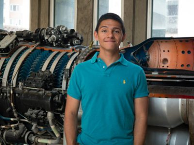 Photo for the news post: Carleton Aerospace Engineering Grad Student Wins Volunteer Award