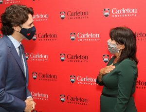 Prime Minister Praises Canadian Post-Secondary Graduates in Live Address at Carleton University