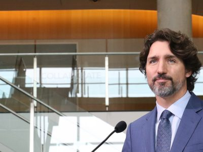 Photo for the news post: Prime Minister Praises Canadian Post-Secondary Graduates in Live Address at Carleton University