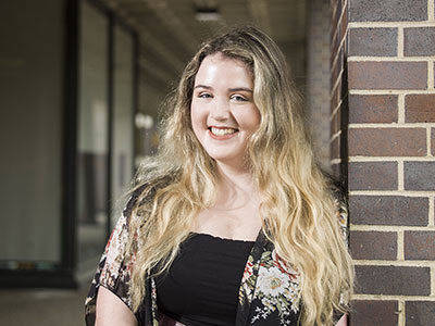 Photo for the news post: Carleton Music Grad Kelsey Hayes Ready to Take the Big Stage