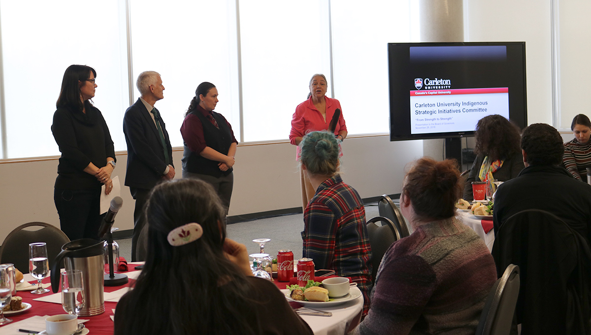 Carleton University Indigenous Strategic Initiatives Committee Event