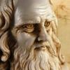 Photo of Angelo Mingarelli speaks to CBC about Carleton's celebration of Leonardo da Vinci.