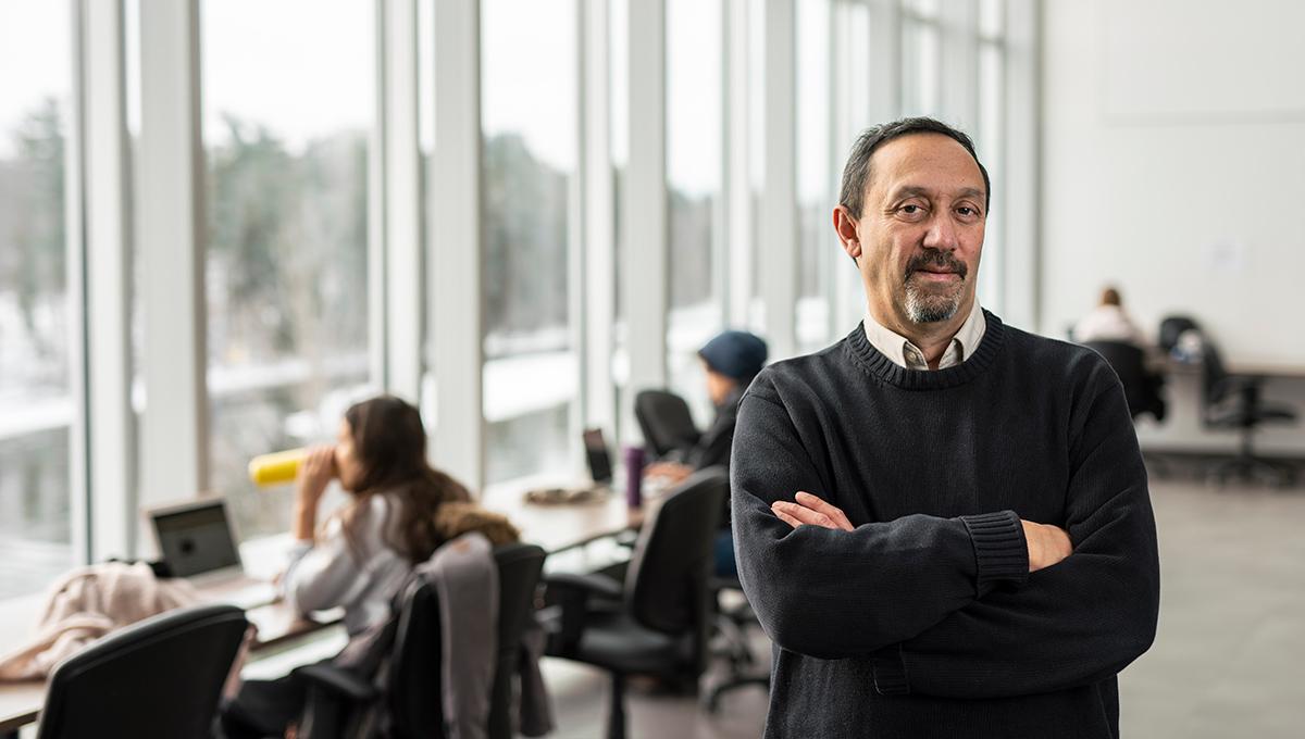Lessons from a Changing EU - Photo of Carleton University Prof. Jeff Sahadeo