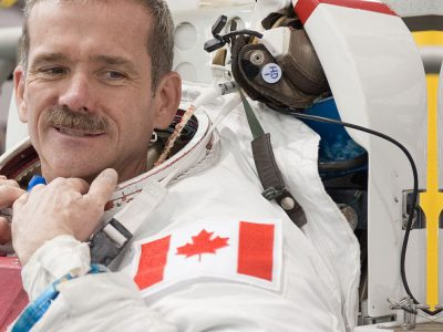 Photo thumbnail for the story: Chris Hadfield Lands at Carleton for SOAR Conference in 2018