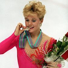 Liz Manley at the Olympics