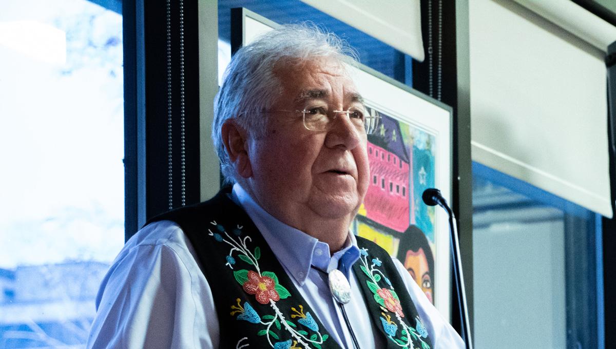 Carleton Marks Louis Riel Day with Talk by Elder Tony Belcourt
