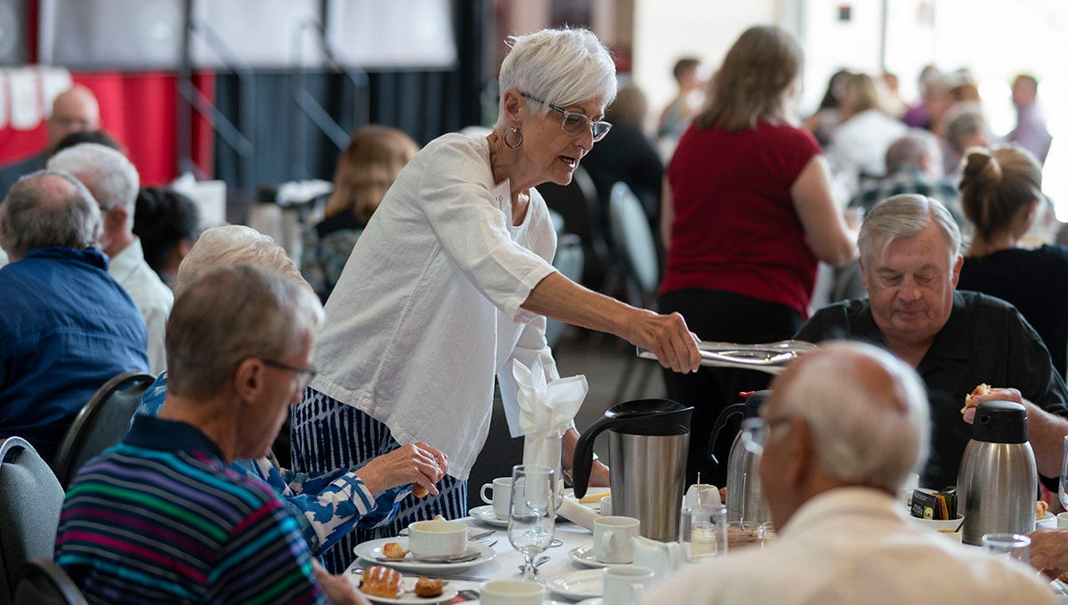 Milestone Reunion Celebrates Long-time Graduates
