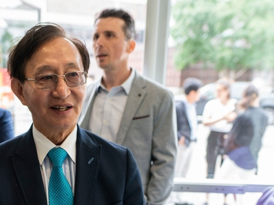 Photo for the news post: Minister Raymond Cho Praises Carleton's Accessibility and Inclusion Efforts
