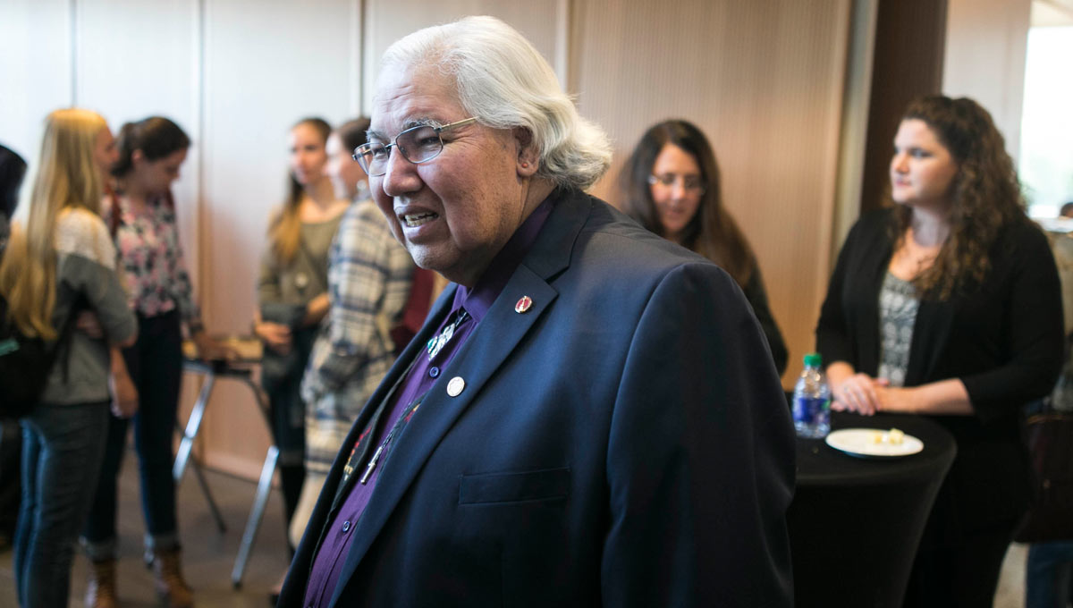 Senator Murray Sinclair, the chair of Canada's Truth and Reconciliation Commission (TRC)