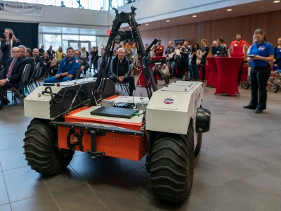 Photo for the news post: NASA Attends Rover Demo