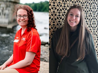 Photo for the news post: Stephanie Ellis and Hannah Whale: Building Confidence and Finding Purpose Through Volunteering