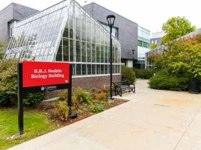 Photo for the news post: Carleton Biology Building Renovations Boost Sustainability