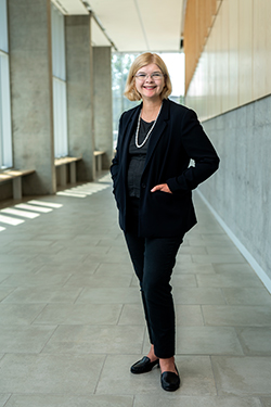 New Business Dean Aims for Social Impact, Breaking Barriers