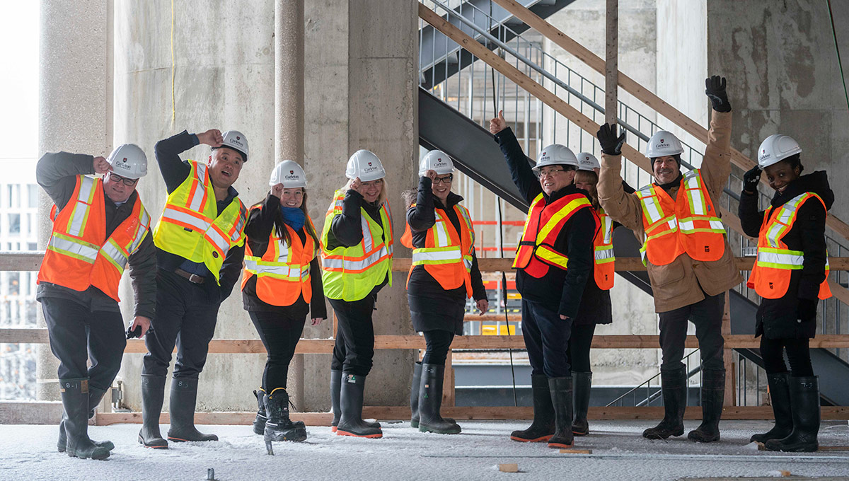 New Home for Sprott School of Business Taking Shape