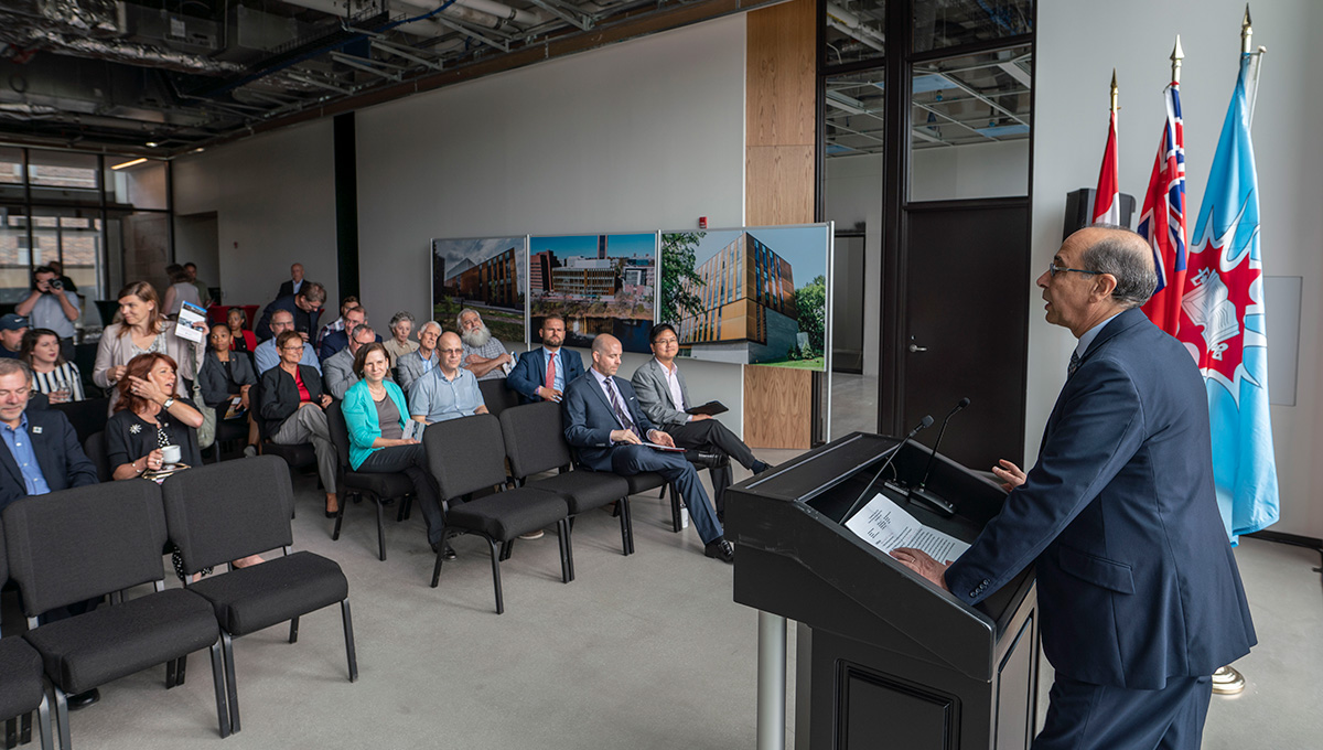 Carleton Celebrates Sustainability Partners in New Smart Environments Building