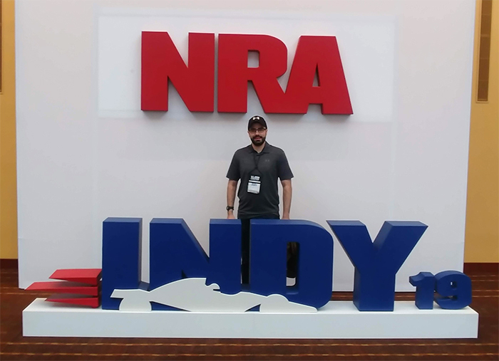 Noah Schwartz at the NRA Indy event