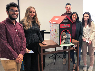 Photo for the news post: Carleton Students Pitch Solutions to Pet Ownership Barriers