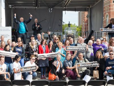 Photo for the news post: Carleton Reduces Stigma at Recovery Day Ottawa