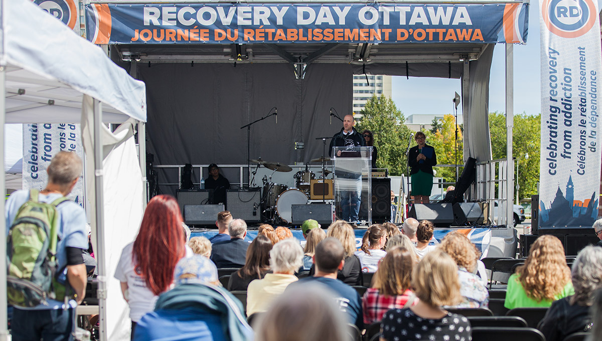 Carleton Reduces Stigma at Recovery Day Ottawa